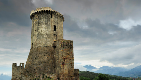 fortress in Velia, Italy 新闻类图片