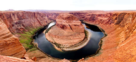 Beautiful picture of the Horse Shoe at the Grand Canyon  photo