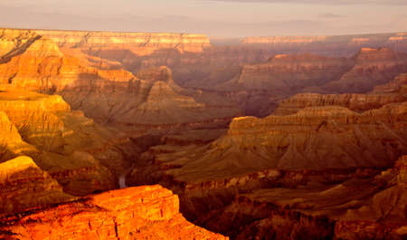 Beautiful landscape shot at the Grand Canyon in Colorado photo