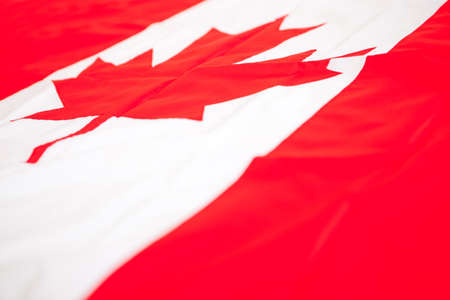 canada flag: Flag from Canada to be used as background Stock Photo