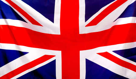 Union Jack flag to be used as background  photo