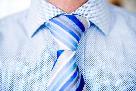 Close up of a business man wearing tie Stock Photo - 19721246