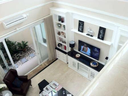 interior: Living room Stock Photo