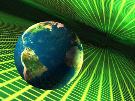Plan�te Terre voyage dans le cyberespace