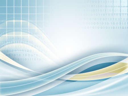 High technology background. Digital illustration illustration