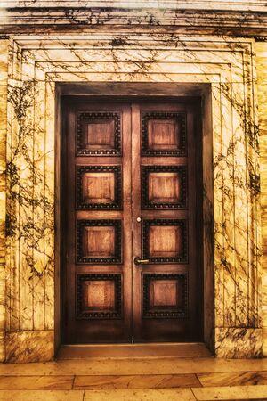 upscale: Door