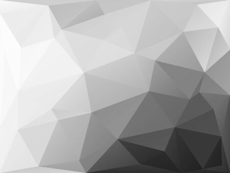 Abstract geometric background with white shapes Vector