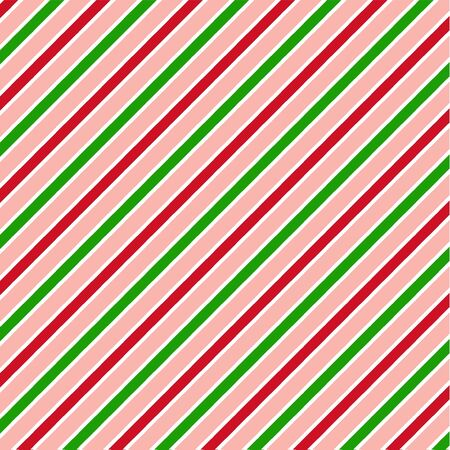 Red green white pattern with diagonal stripes