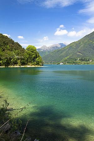 landscape, paradise of ledro s lake