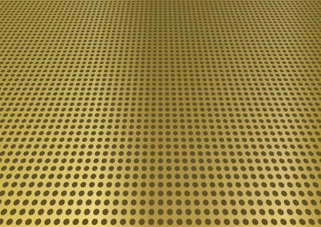 perforated: Perforated brass steel