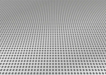 perforated: Perforated stainless steel