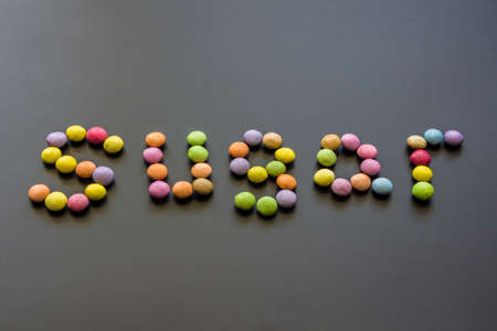 sweet sugary confenctionery in the word sweet