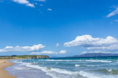 Austrailian sand beach clifton Tasmania