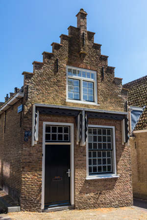 middleharnis, Goeree overflakkee, the Netherlands - July 14 2018: stunning historic dutch house