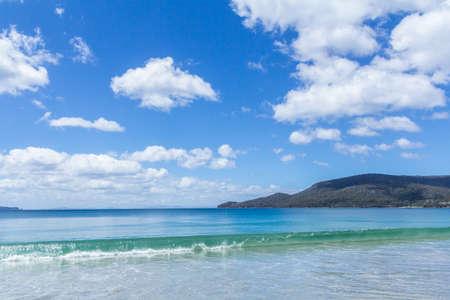 Bruny island adventure bay beach, Tasmania, Australia Imagens