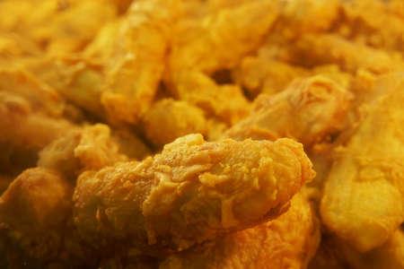 Deep fried banana fritters , pisang goreng