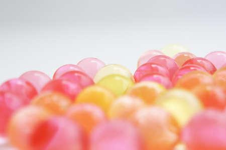 Sanften Pastelltönen Blase Perlen Lizenzfreie Bilder