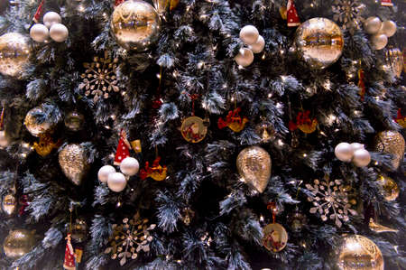 Christmas ornaments detail for a christmas tree. Stock Photo - 11645206