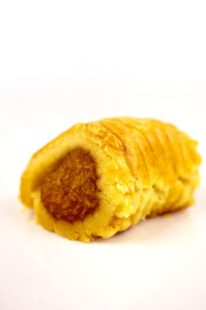 chinese new year food: One shot of a modern pineapple tart design