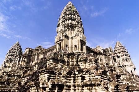artifact: The three towers of Angkor Wat, Siem Reap, Cambodia