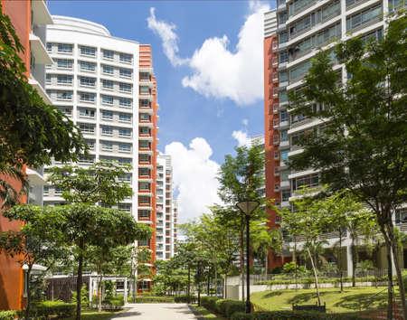 Ein Weg zu neuen Wohnsitz Immobilien