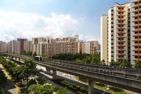 hdb: A sky train and track system in a modern neighbourhood   Editorial