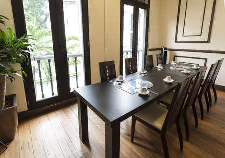 Ein Pirvate Zimmer in einem Asia Restaurant.