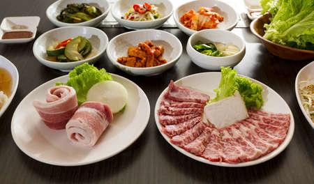 Koreanisches Essen Lizenzfreie Bilder