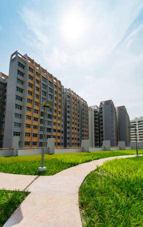 Ein Park zu einer grünen Anwesens in Singapur