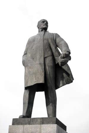 lenin: Monument to Vladimir Lenin - leader of the Russian revolution