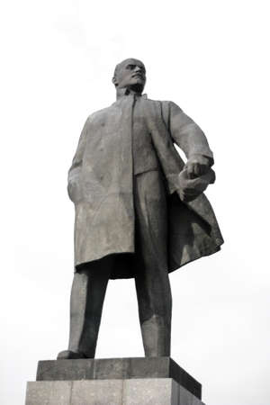 Monument to Vladimir Lenin - leader of the Russian revolution