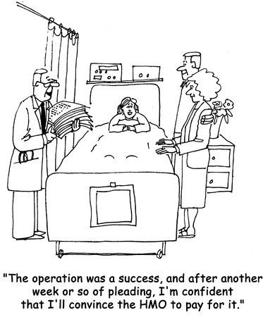 health cartoons: Operation