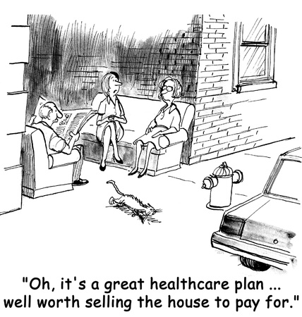 health cartoons: Alley healthcare