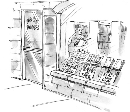 kindle: Bookstore signs