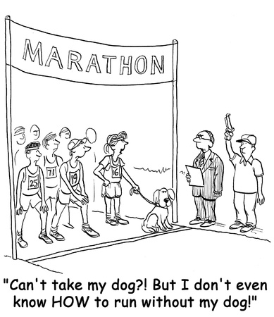 dog cartoon photo