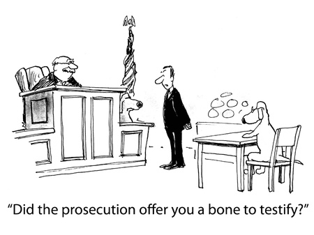 trial: dog cartoon
