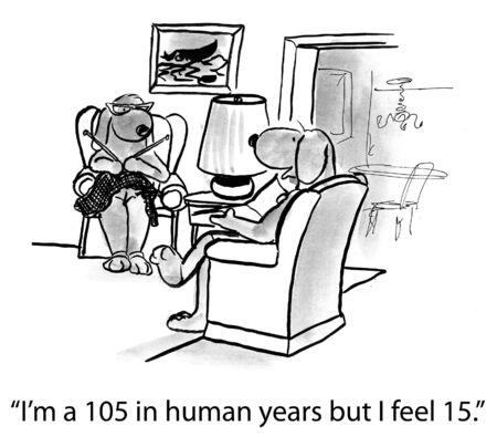 bande dessinée de chien