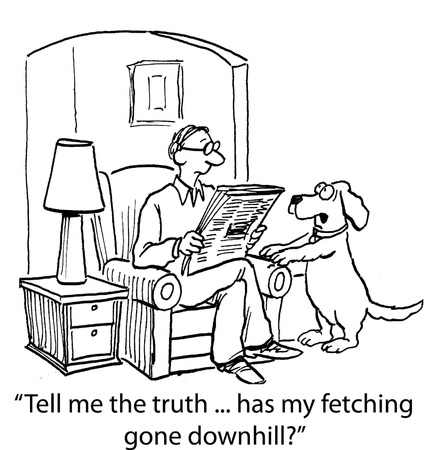 cane da cartone animato