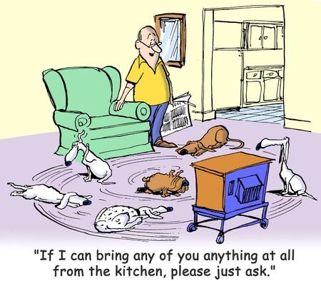 mutts: dog cartoon