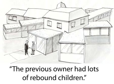 listings: Real estate shows client a house with additions