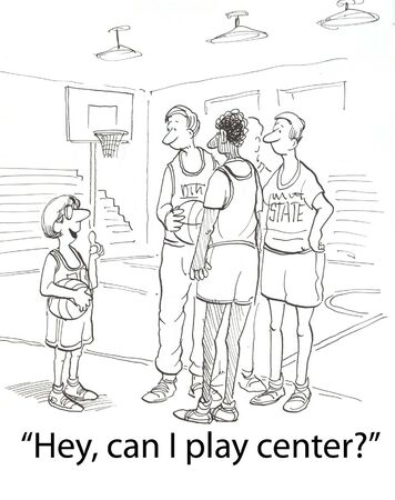 shortest player wants to be center