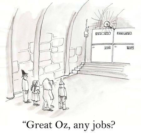 firing: Wizard of Oz jobs