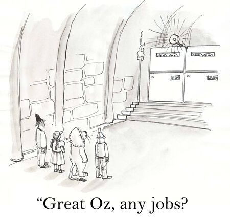 classifieds: Wizard of Oz jobs