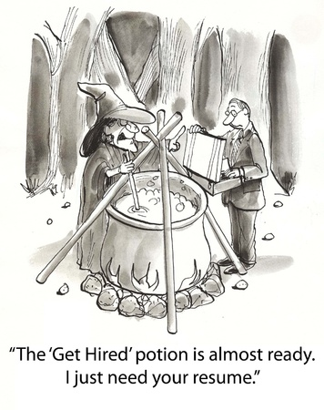 witch makes potion for hiring