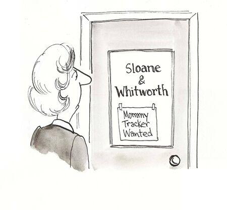 retained: madre está preocupada para ver signo