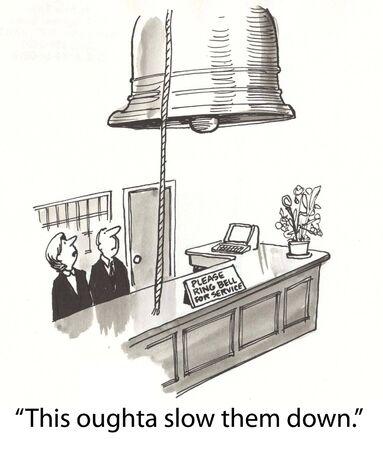 front desk: concierce at front desk with help