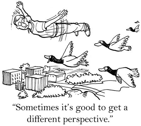 Soms is het goed om een ander perspectief