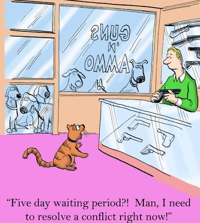 5 日の間に期間の男を待っている私は今、ピースを必要があります。