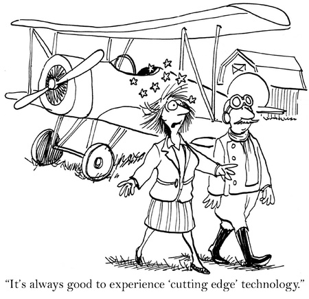 cutting edge: Its always good to experience cutting edge technology.