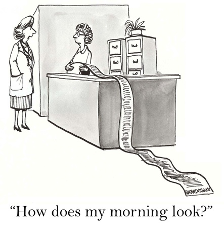 どのように私の朝が見えます